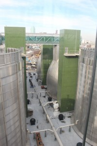 Greenpoint's wastewater treatment plant is the largest in New York City