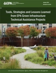 Tools, Strategies and Lessons Learned from EPA Green Infrastructure Assistance Projects booklet cover